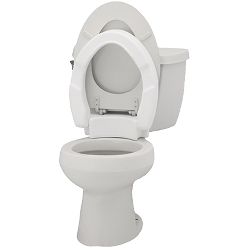 Incredible Standard Hinged Toilet Seat Riser Bay City Medical Supplies Ibusinesslaw Wood Chair Design Ideas Ibusinesslaworg
